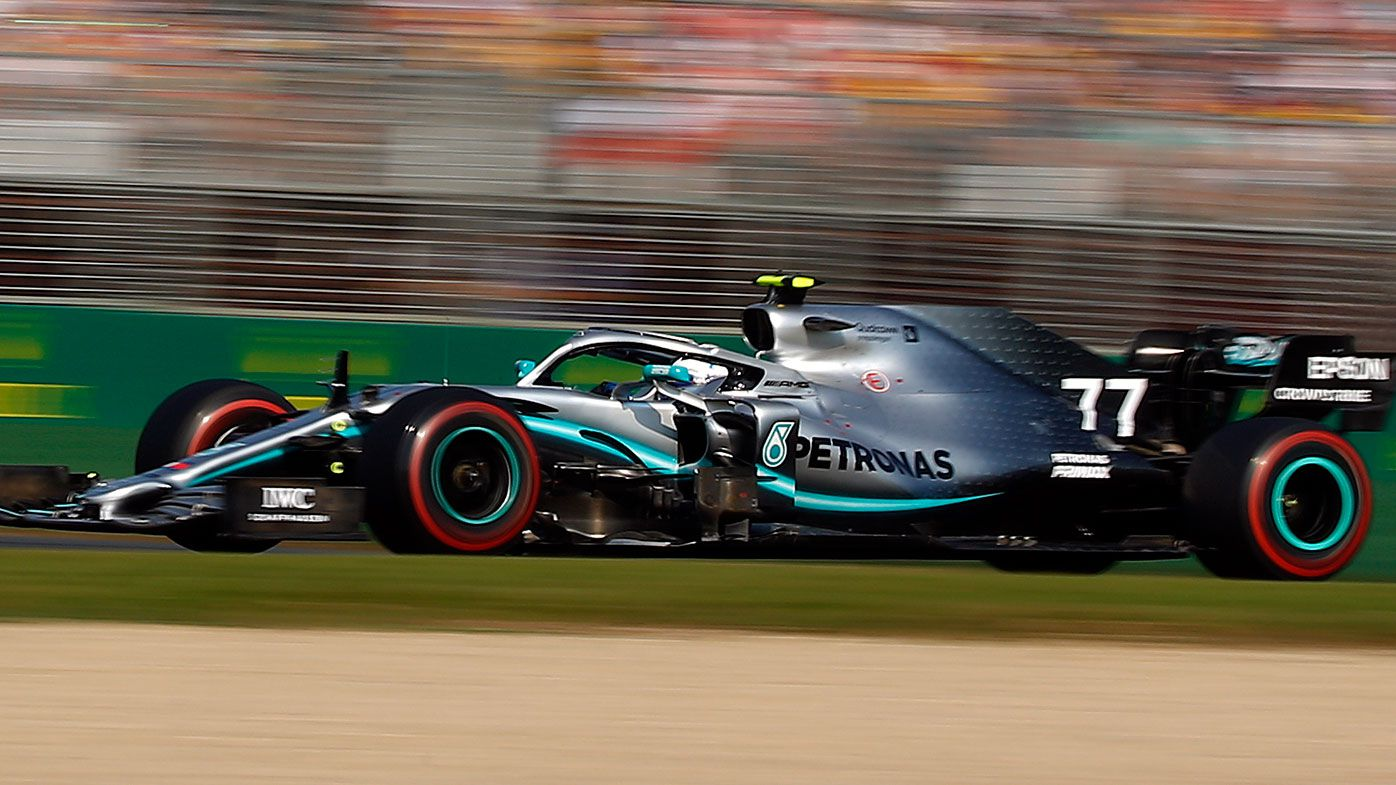 Valtteri Bottas claimed victory at the Australian Grand Prix.