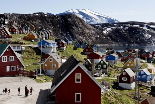 Aiming to put his mark on the world map, President Donald Trump has talked to aides and allies about buying Greenland for the U.S.