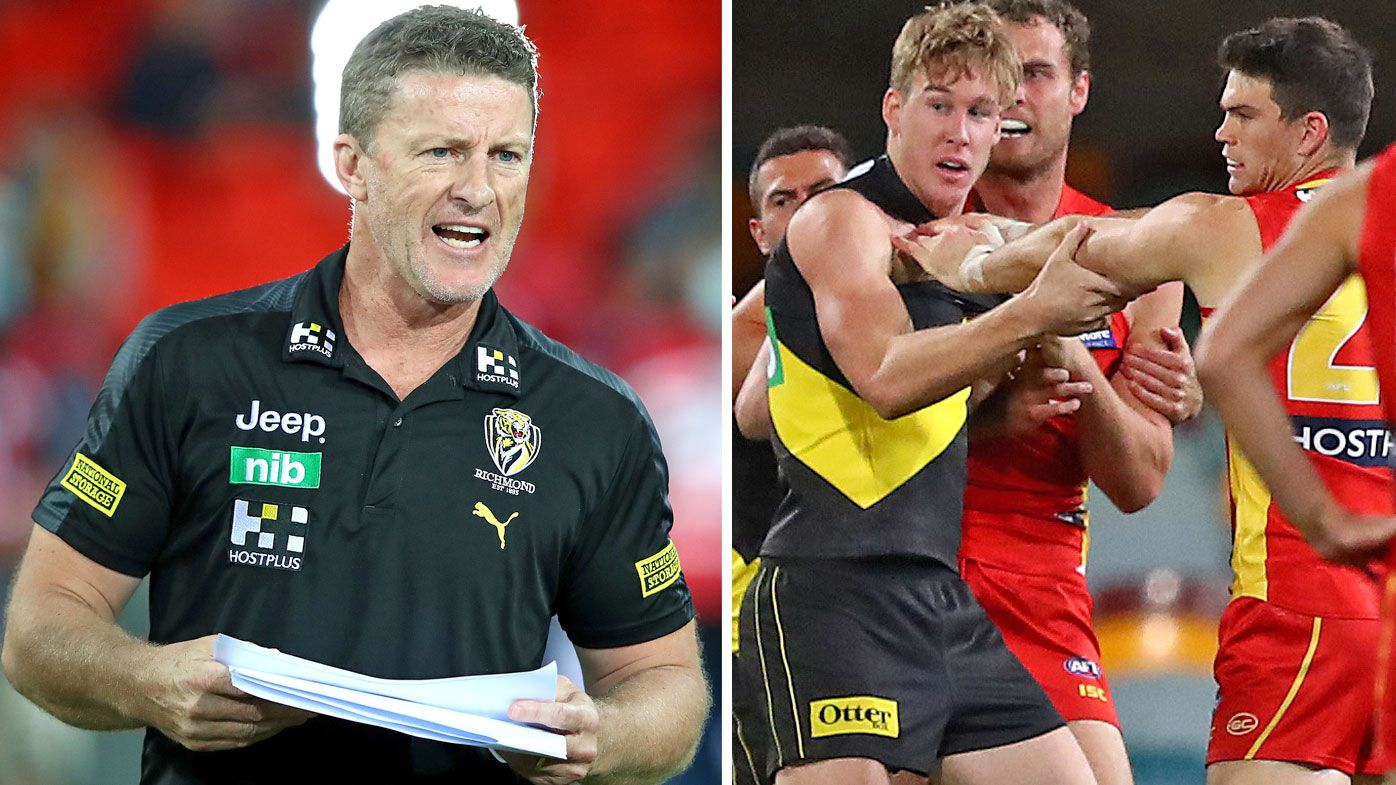 Tom Lynch drama 'gets personal' as Richmond coach Damien Hardwick hits back at David Schwarz criticism