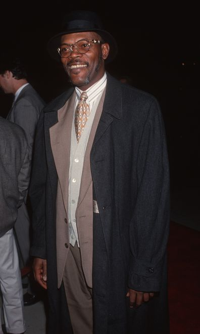 Samuel L. Jackson during the 1993 screening of In the Name of the Father at the Academy Theater in Beverly Hills, California, United States.