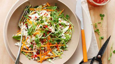 <strong>Vietnamese chicken coleslaw</strong>