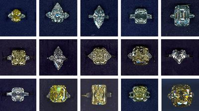 <p>In 2009, two elegantly dressed men robbed the Graff Diamond Store in London's high-end Mayfair district and carried away necklaces, watches, rings and bracelets worth more than 40 million pounds ($62 million at today's exchange rate), according to Scotland Yard (some of the stolen jewels pictured).</p>