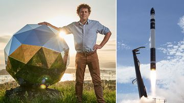 Rocketlab is the brainchild of Kiwi Peter Beck who has grown a billion-dollar company in just three years. Picture: AP
