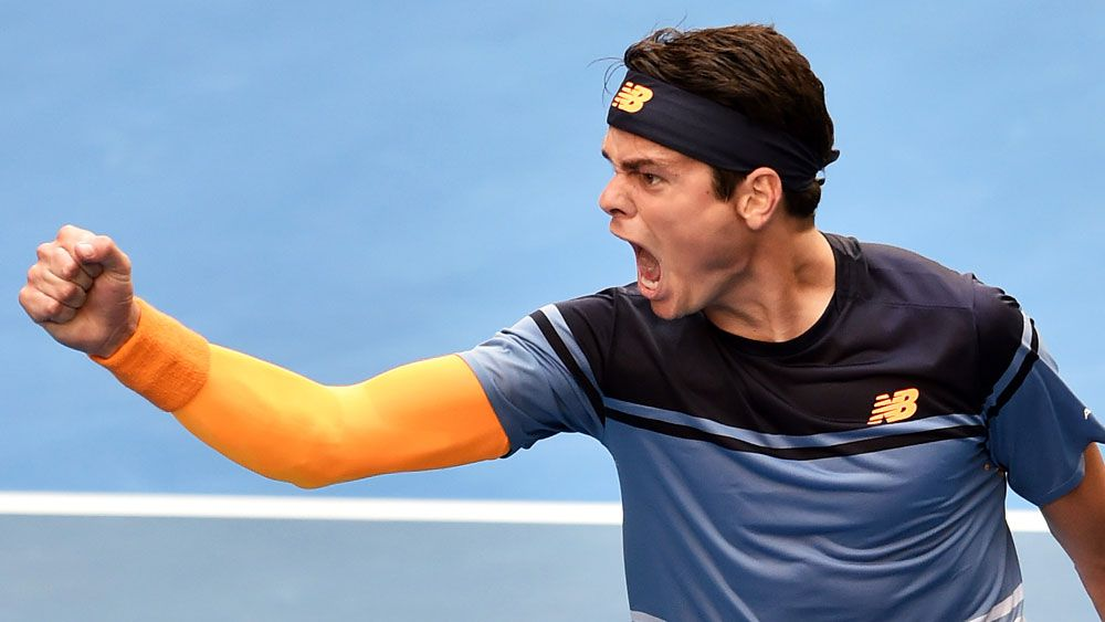 Monfils and Raonic light up Open
