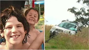 12-year-old Tait and 9-year-old Kobi Van Der Heyden were killed instantly when truck driver Graham Morrison smashed into their family's car in 2017.