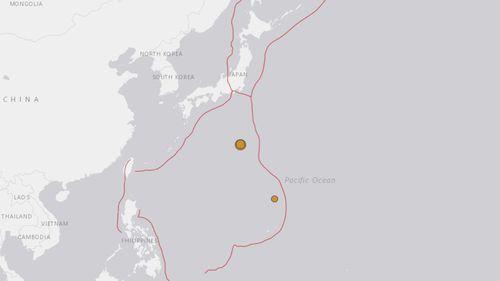Magnitude 6.9 quake hits off islands south of Tokyo
