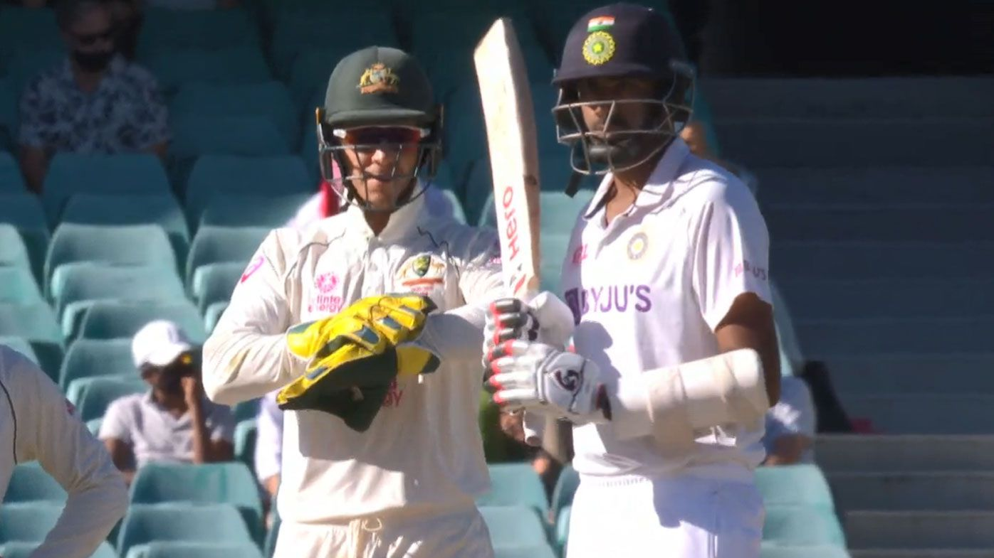 'At least my teammates like me, d---head': Tim Paine talks trash but can't back it up with the gloves