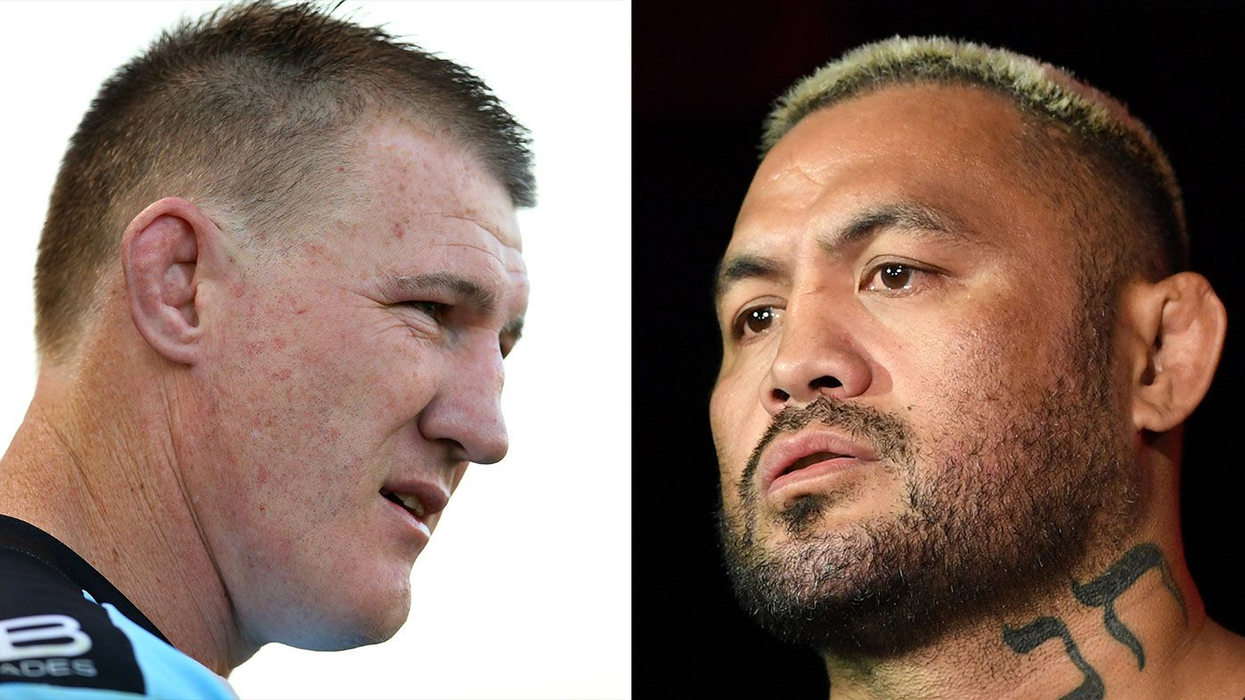EXCLUSIVE: Paul Gallen bites back at 'stupid' Mark Hunt's latest barb