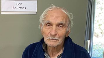 Con Bourmas, 88, is missing from a Victorian aged care home.