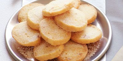 Lemon & ginger shortbread