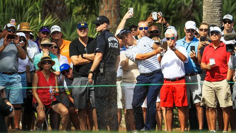 Justin Thomas removes 'inappropriate' heckler — Honda Classic
