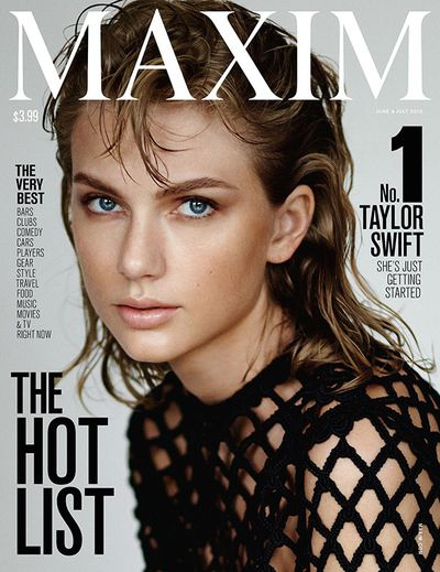 Taylor Swfit for <em>Maxim</em> June/July 2015