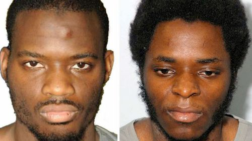 Michael Adebolajo (L) and Michael Adebowale, who attacked and killed British soldier Lee Rigby. (AAP)
