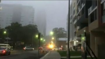 Heavy fog has enveloped Sydney.