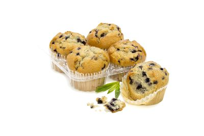 Woolworths Select blueberry muffin: 24.6g sugar per serve