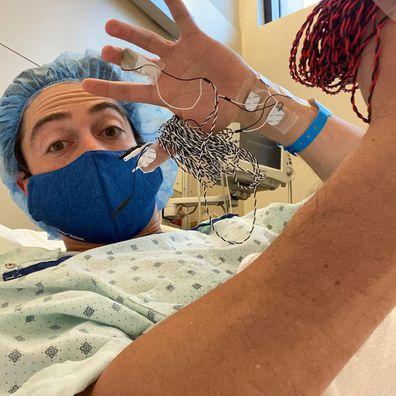 Superstore star Ben Feldman talks spinal surgery.