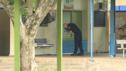 Darwin Ludmilla Primary School axe teen break in