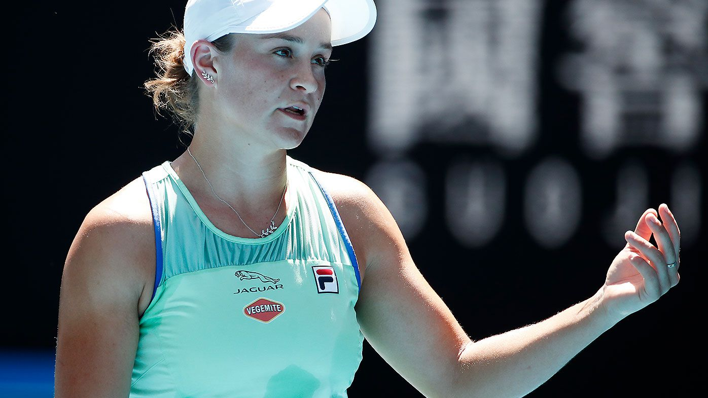 John McEnroe challenges Ash Barty to find a way to use the crowd