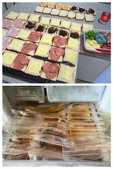 Sandwich, kitchen hack