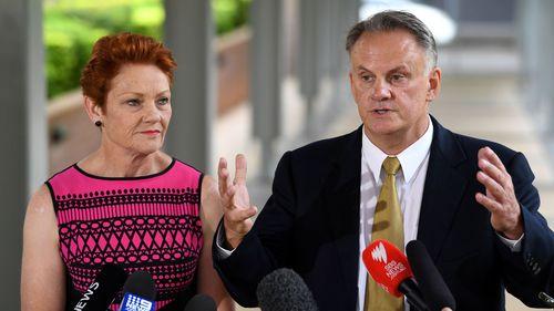 Pauline Hanson and Mark Latham.