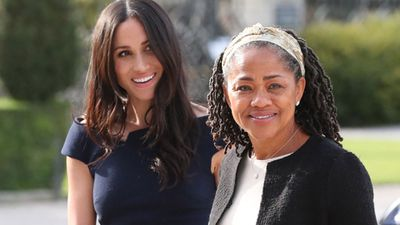 Meghan Markle arrives at Cliveden House for quiet night with mum before Royal Wedding