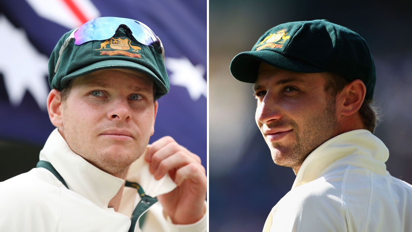 Steve Smith and Phillip Hughes