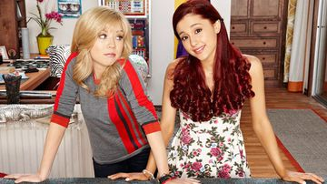 Jennette McCurdy and Ariana Grande in 'Sam and Cat' (Nickelodeon)