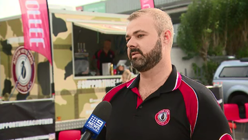 John McNeill, a former soldier, is using his discharge from the Australian Army to help other veterans through his coffee ventures.