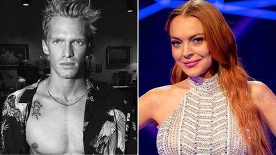 Cody Simpson and Lindsay Lohan