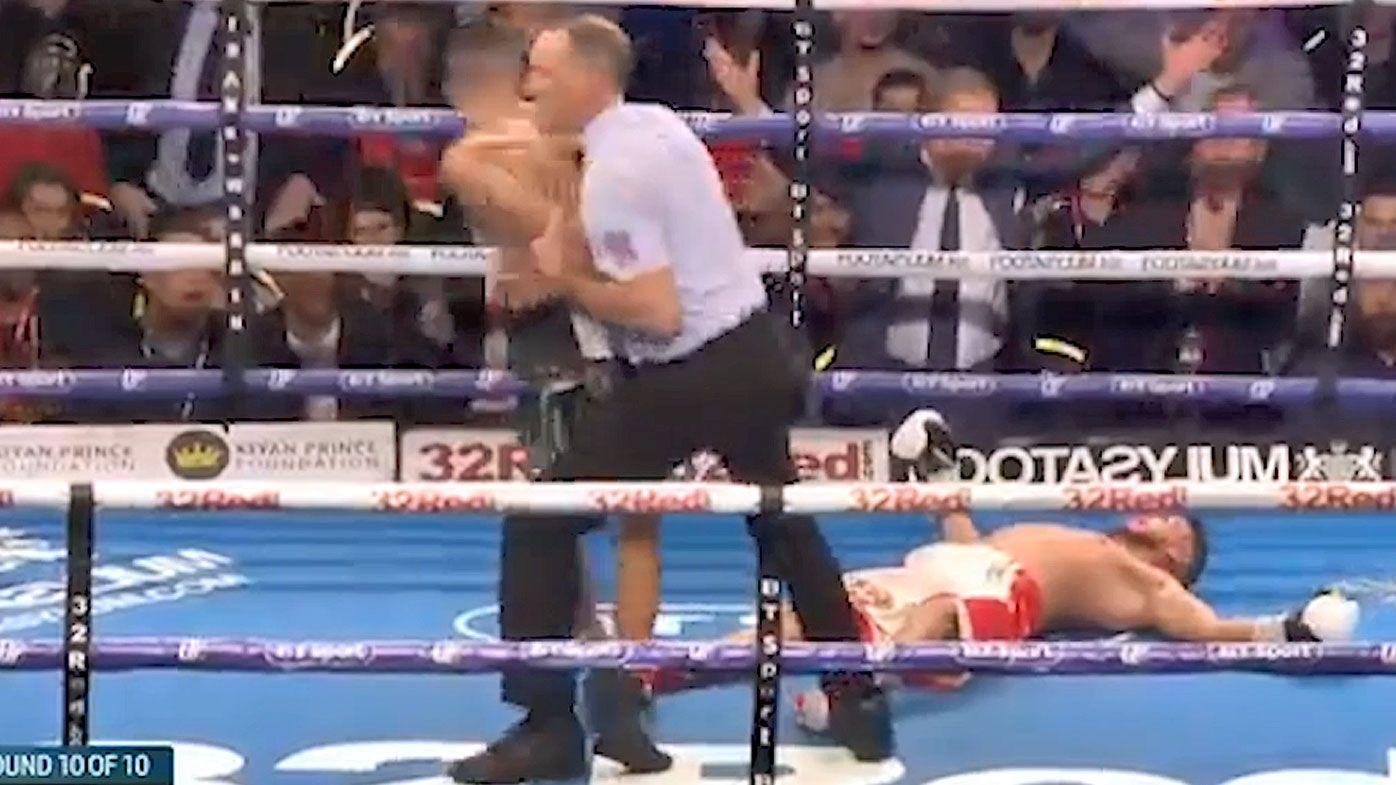 Boxer Sabri Sediri viciously KO'd after taunting opponent