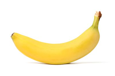 Banana: 1 medium piece has 27g carbs, 3g fibre, 105 calories