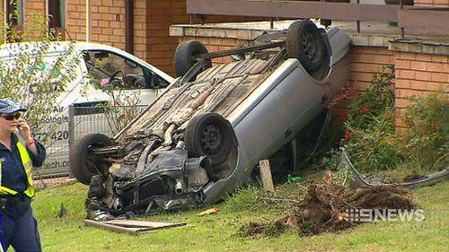 The offender was speeding and driving a stolen car when he struck Mr McCarroll. (9NEWS)
