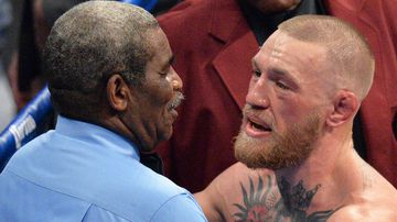 Conor McGregor and the referee