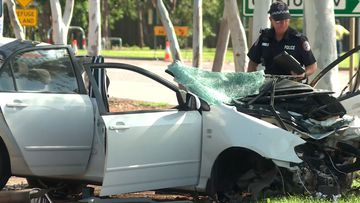 Man in critical condition after high-speed crash