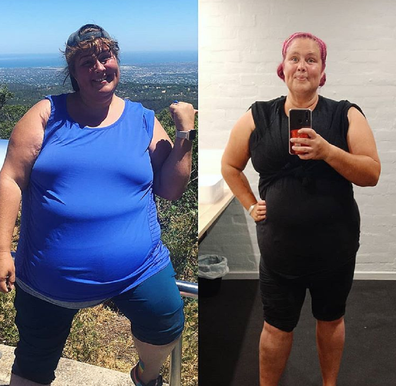 Cathy Sheargold regained the weight she'd lost.