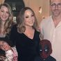 Mariah Carey's son sneaks up on Ryan Reynolds while wearing Deadpool mask