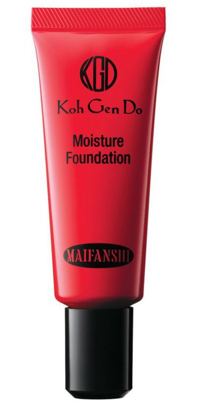 "<a href=""https://kohgendocosmetics.com/products/maifanshi-moisture-foundation?variant=25087118789"" target=""_blank"" draggable=""false"">Koh Gen Do Maifanshi Moisture Foundation, $87</a>"