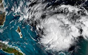 New storm approaches devastated hurricane-hit Bahamas