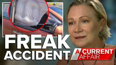 Woman left in chronic pain after airbag suddenly explodes