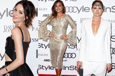 <br/>Red-hot red carpet! All our fave Aussie celebs got glammed up for the <i>InStyle</i> and Audi Women of Style Awards in Sydney last night. <br/><br/>From golden girl Jessica Mauboy's lace frock to <i>The Face</I> mentor Cheyenne Tozzi's sexy side-split, check out our fave high-fash snaps from the night... <br/><br/>(Images: Getty)