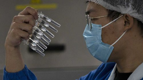 A Chinese tycoon who owns a vaccine maker has become the country's richest person.