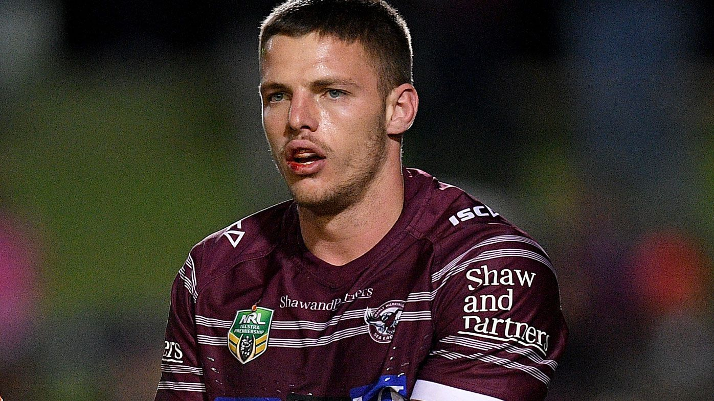Manly's Jack Gosiewski charged by the NRL match review committee for late hit on Johnathan Thurston