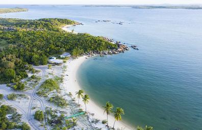 Tropical paradise at Bawaka Homelands, remote Arnhem Land beaches, Northern Territory