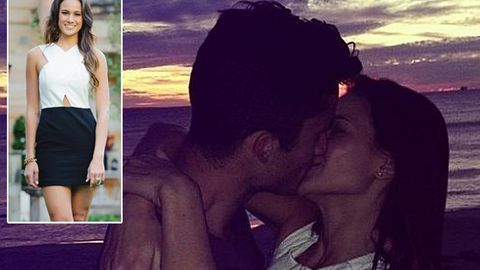 Oops! The Bachelor beauty queen Alana leaks shot kissing man who is NOT Blake