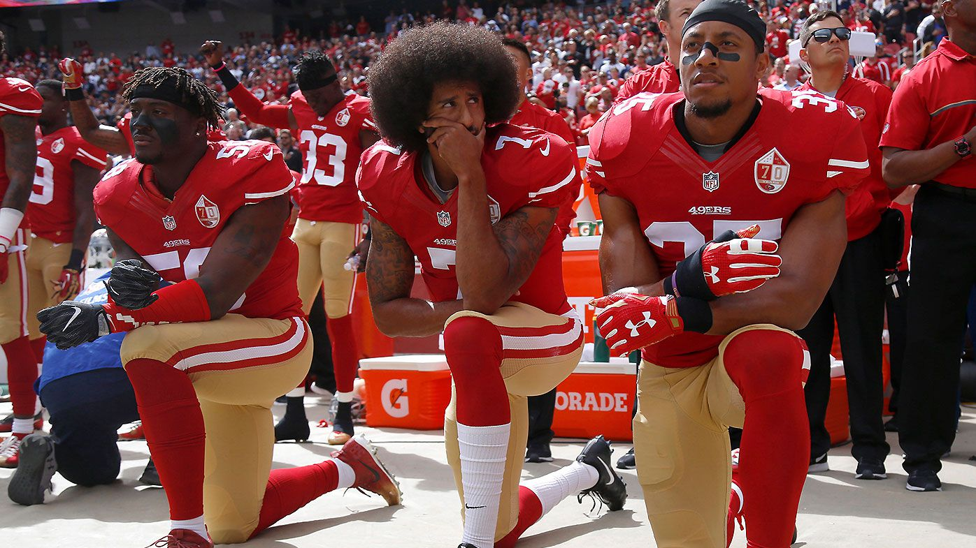 """NFL Commissioner Roger Goodell says he wished the league had """"listened earlier"""" to Colin Kaepernick"""