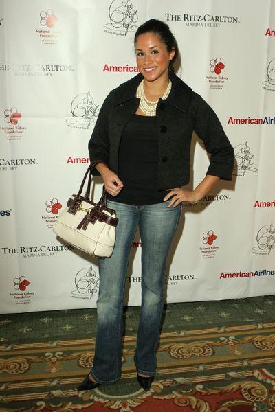 Meghan Markle at a Great Chefs of LA event in California in 2006