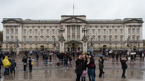 Buckingham Palace, in London, is set to receive a multi-million dollar makeover. (AFP)