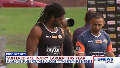 NRL: Jamal Idris retires from rugby league aged only 27