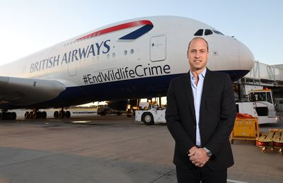 <p>Prince William reveals why Kate is 'immensely jealous' of his trip to Africa</p>