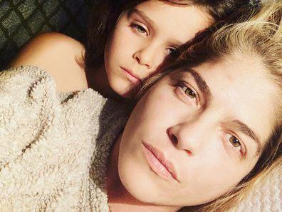 Selma Blair selfie with son Arthur